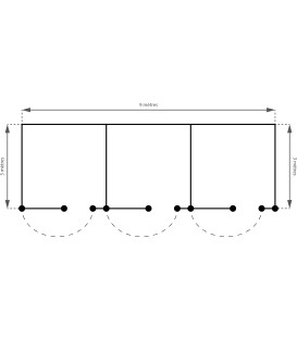 Boxe x3 (3.00m x 9.00m)