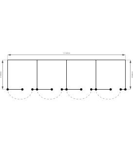 Boxe x4 (3.00m x 12.00m)