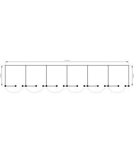 Boxe x6 (3.00m x 18.00m)